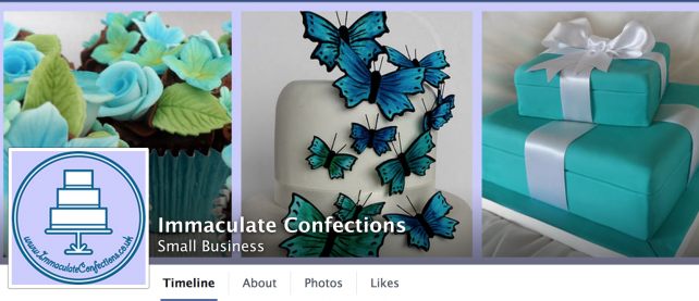 Immaculate Confections Facebook Page