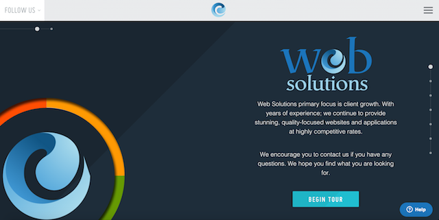 Web Solutions Home Page