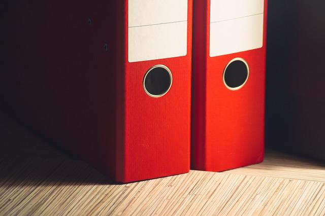 Organizing Tips File Folders