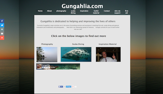 Gungahlia.com Website
