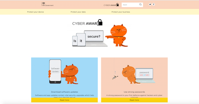 Security Breaches Cyber Aware Campaign