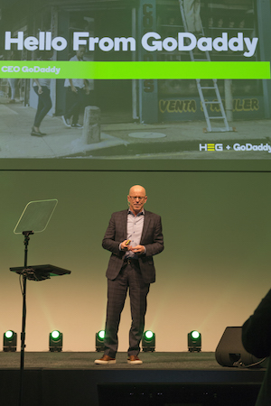 HEG and GoDaddy Blake Irving CEO