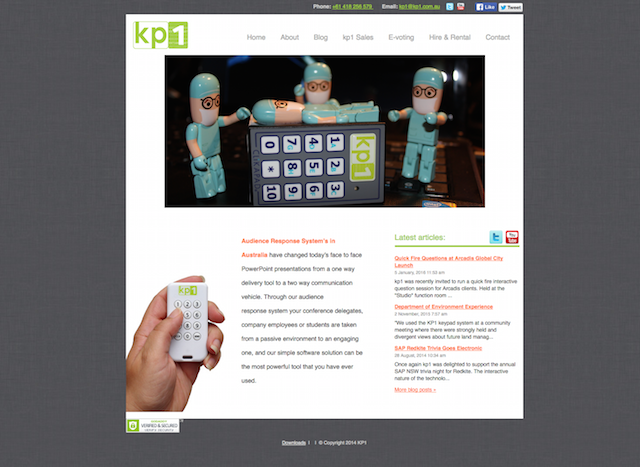 kp1 Website