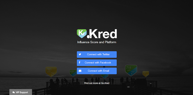 Measure Social Media Influence Kred