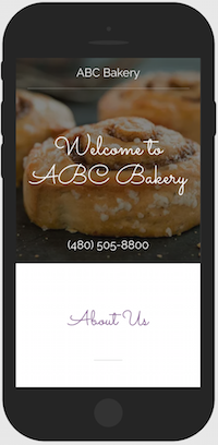 Restaurant Website Mobile