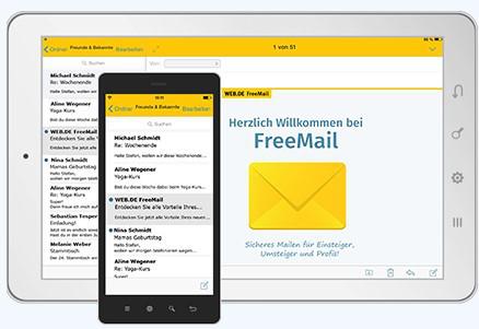 Abbildung3 - Freemail-Anbieter Web-DE Screenshot