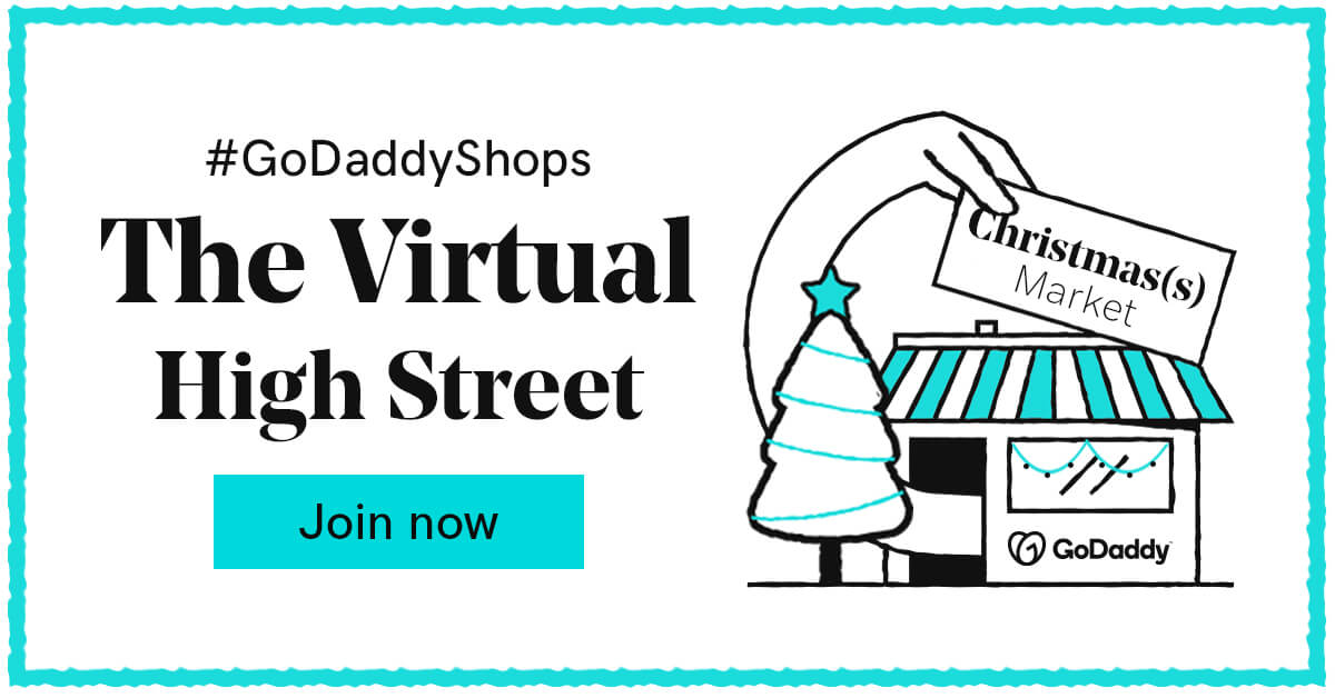 Facebook GoDaddy Virtual Shopping Event