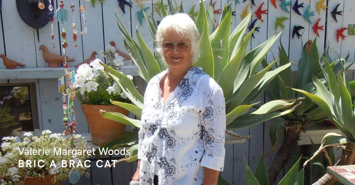 Valerie Margaret Woods of Bric a Brac Cat