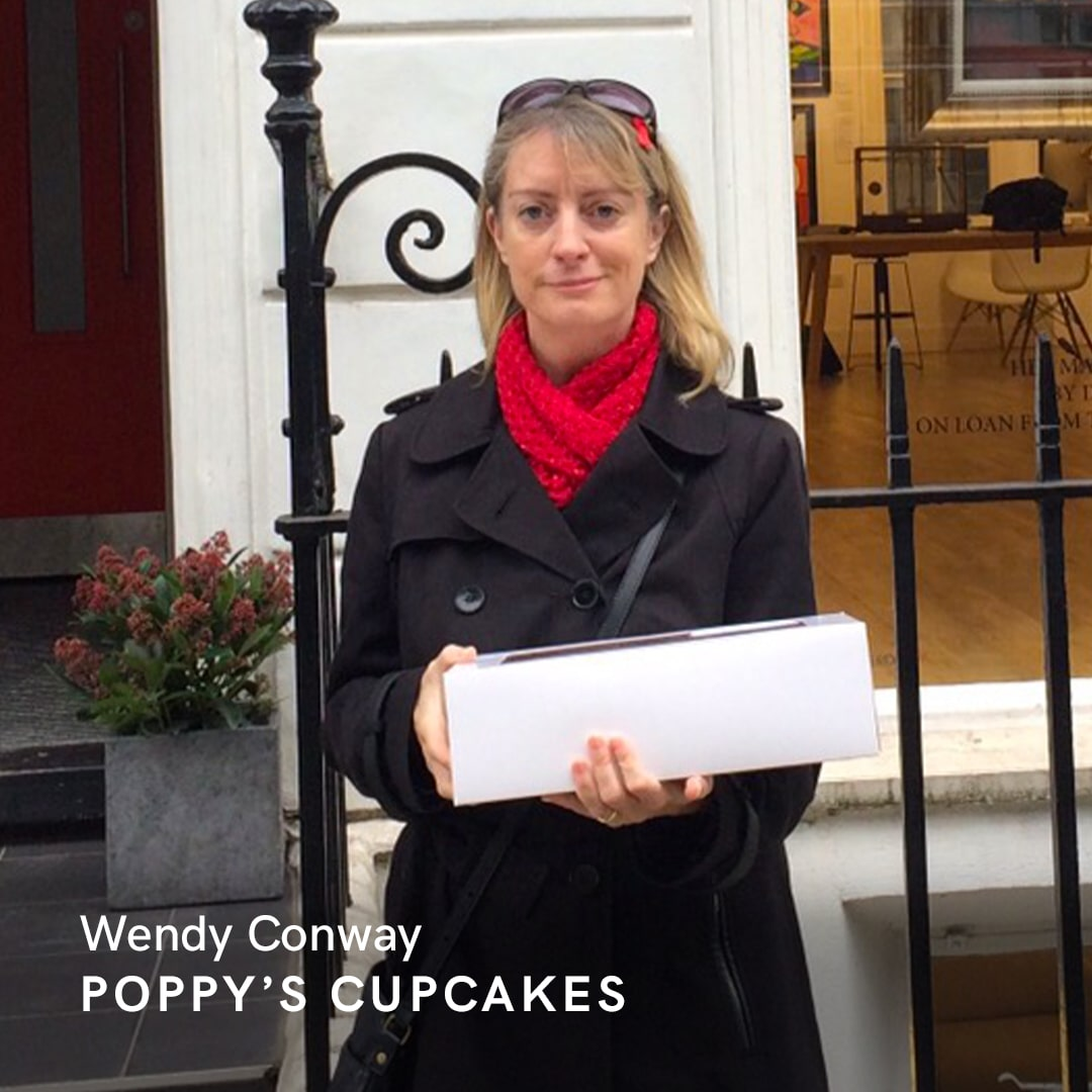 Wendy Conway of Poppy's Cupcakes who took her baking business online with the help of GoDaddy UK