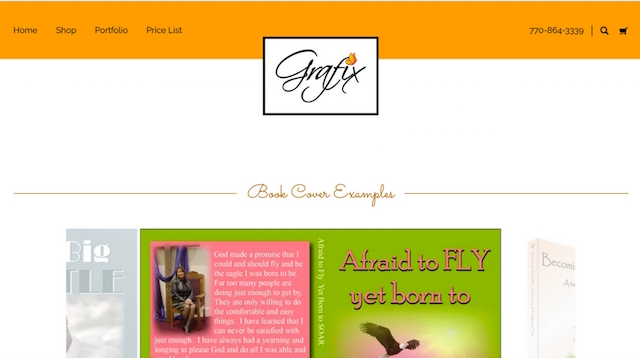 Build a Portfolio Website Butterfly Grafix