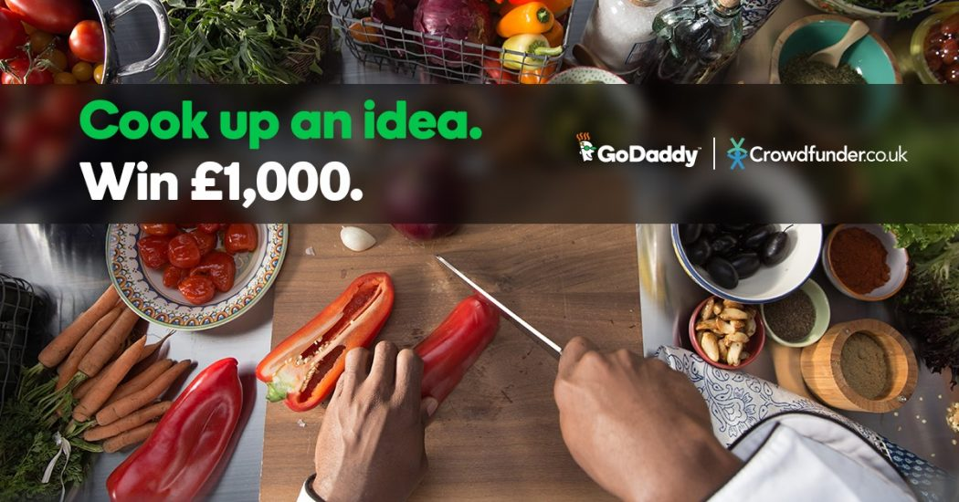 crowdfunding with crowdfunder and godaddy