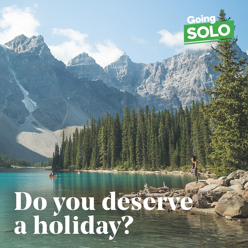 As a business owner, do you deserve a holiday?
