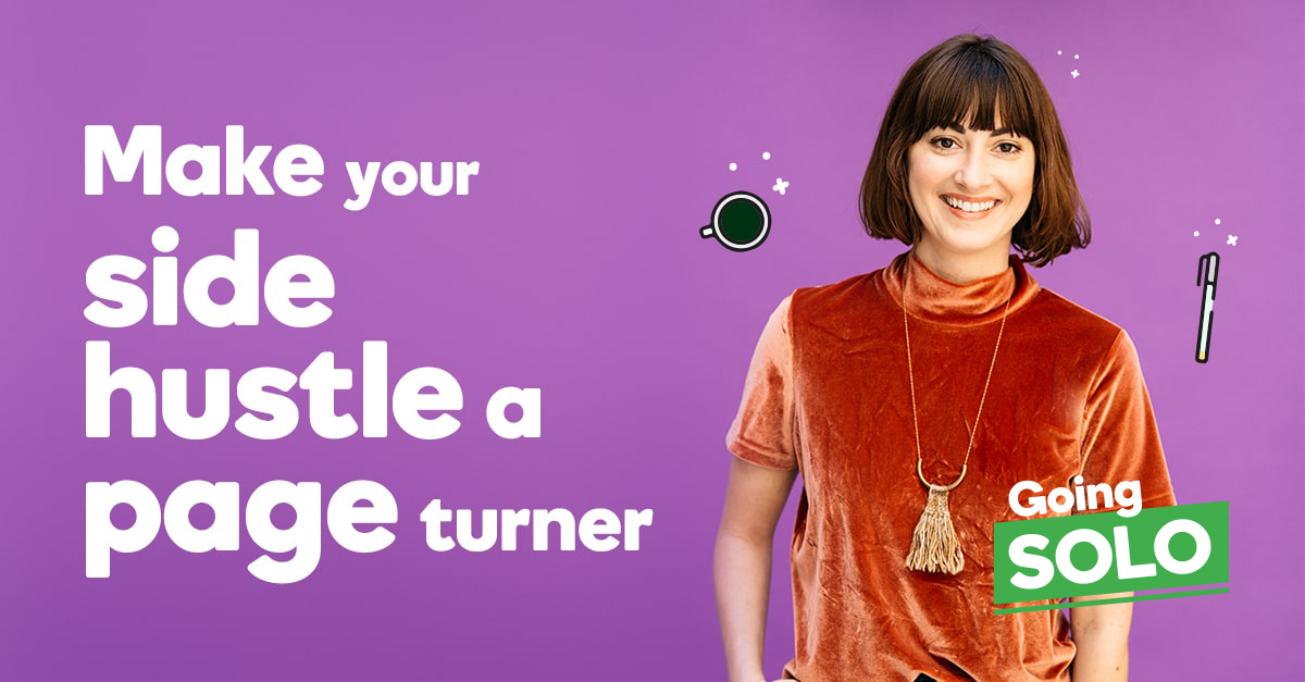 Turning your side hustle into a page turner