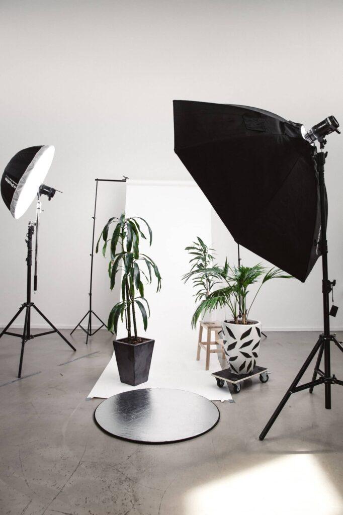 ürün fotoğrafı softbox ışık düzeneği